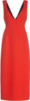 Victoria Beckham Cami Crepe Midi Dress