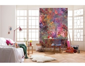 Brewster Home Fashions Wild Garden Wall Mural