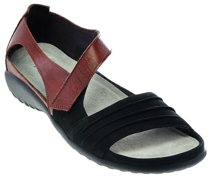 Naot Footwear Nubuck Leather Closed Back Sandals - Papaki