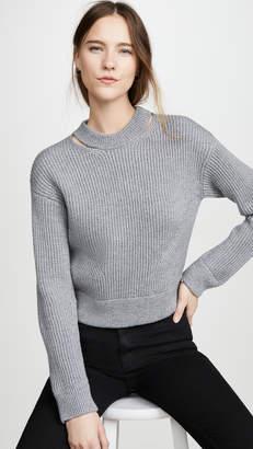 Proenza Schouler White Label Chunky Rib Pullover