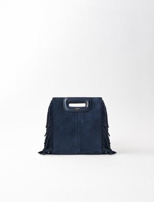 Maje Mini M bag with chain