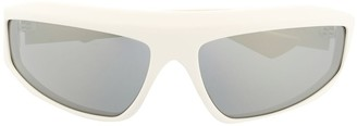 Bottega Veneta 632396V2330 wraparound-frame sunglasses