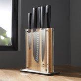 Crate & Barrel Schmidt Brothers ® 7-Piece Carbon 6 Knife Block Set