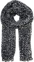 Saint Laurent blotchy print scarf