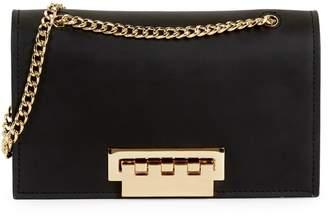 Zac Posen Small Earthette Leather Shoulder Bag
