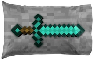 Minecraft Diamond Life 1 Pack Pillowcase