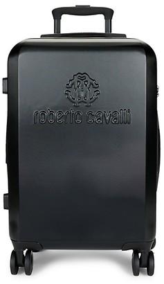 Roberto Cavalli Classic Logo Carry-On Luggage