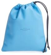 Smythson Medium Leather Pouch - Blue