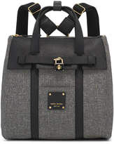 Henri Bendel Jetsetter Mini Convertible Canvas Backpack