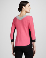 Magaschoni V-Neck Cashmere Sweater