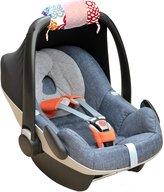 Itzy Ritzy IR-RW8067 Wrap Infant Car Seat Handle Cushion, Fresh Bloom
