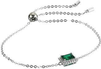 Swarovski Angelic Rectangular Bracelet (Green) Bracelet