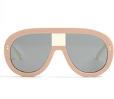 Stella McCartney Mask acetate sunglasses