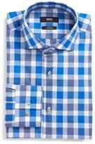 BOSS Jason Slim Fit Easy Iron Plaid Dress Shirt