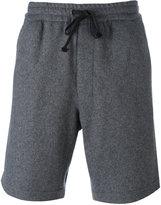 Ami Alexandre Mattiussi Elasticated Waist Bermuda Shorts - men - Virgin Wool/Polyimide - 34
