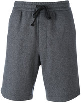 Ami Alexandre Mattiussi Elasticised Waist Bermuda Short - men - Virgin Wool/Polyimide - 38