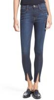 Frame Women's Le High Skinny Front Split High Waist Jeans