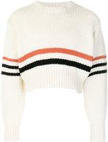Raf Simons Americano striped sweater