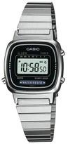 Casio Women's Digital Watch - Silver (LA670WA-1)
