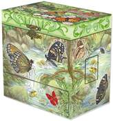 goldia Child's Monarchs Butterfly Musical Jewelry Box