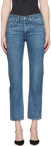 Brock Collection Indigo Wright Jeans