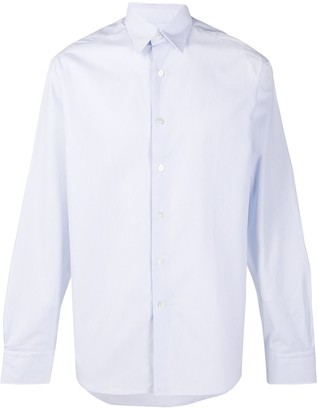 Lanvin Striped Long-Sleeved Shirt