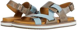Keen Lana Z-Strap Sandal (Plaza Taupe/Blue Surf) Women's Shoes