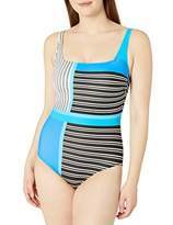 Gottex Women's Shaped Square Neck One Piece Swimsuit