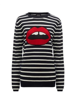 Markus Lupfer Lara Lip Breton Stripe Natalie Jumper - S / Multi - Black/White/Red
