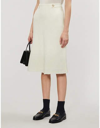 Claudie Pierlot High-waist tweed skirt