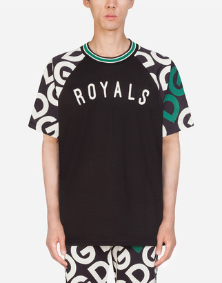 Dolce & Gabbana Cotton T-Shirt With Logo Print