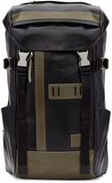 Master-piece Co Black Leather Backpack