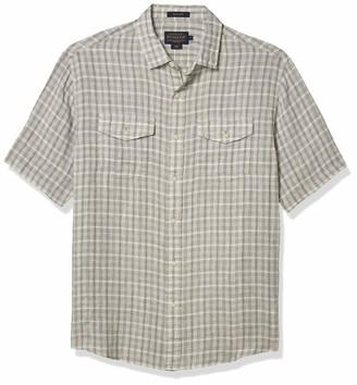 Pendleton Men's Short Sleeve Button Front Malone Shirt