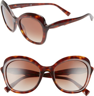 Tiffany & Co. Paper Flowers 54mm Gradient Round Sunglasses