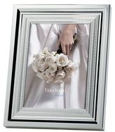 """Vera Wang Wedgwood With Love Silver-Plated Photo Frame (4"""" x 6"""")"""