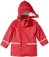 Sterntaler Unisex Baby 5651405 Rain Jacket Non-Lined Cape Short Sleeve Raincoat, Red (4), One Size (Manufacturer Size:)
