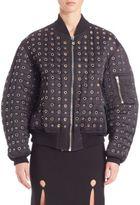 Alexander Wang Perforated Puffer Jacket
