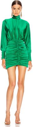 retrofete Barbara Dress in Emerald Green | FWRD