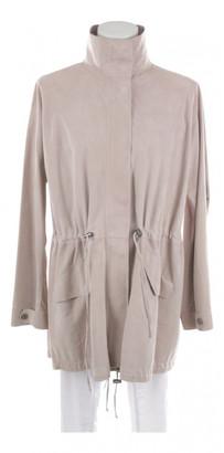 Iris von Arnim Beige Leather Jackets