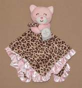 "Carter's Baby ""Cuddle Blanket with Rattle"" Pink ""Kitty"" of Leopard Print & Pink Color Combo"