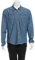 Balenciaga Western Button-Up Shirt