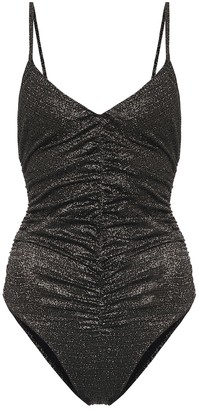 Lisa Marie Fernandez Ruched Camisole swimsuit