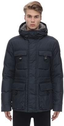 Peuterey Nylon Down Jacket W/ Fur