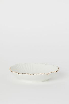 H&M Shallow Porcelain Dish