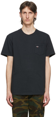 Noah NYC Black Logo Pocket T-Shirt
