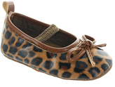 Laura Ashley Brown Leopard Flat