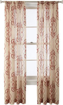 Royal Velvet Ardesia Rod-Pocket Sheer Curtain Panel