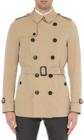 Burberry The Sandringham short-length cotton-twill trench coat
