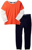 Splendid Long Sleeve T-Shirt & Pants Set (Little Boys)