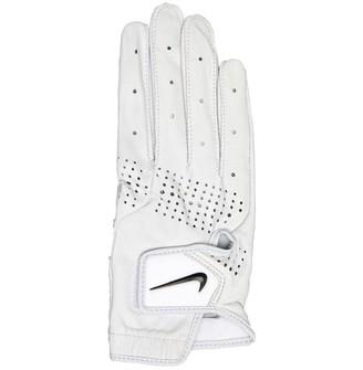 Nike Womens Tour Classic III Right Hand Golf Glove Pearl White/Pearl White/Black
